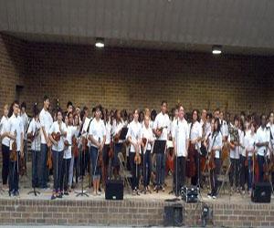 Steelmen Strings at the Bicentennial Park Concert